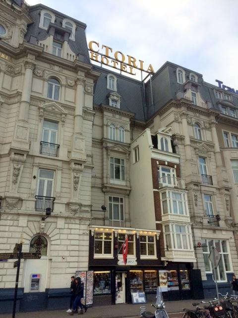 Victoria Hotel Amsterdam Adres